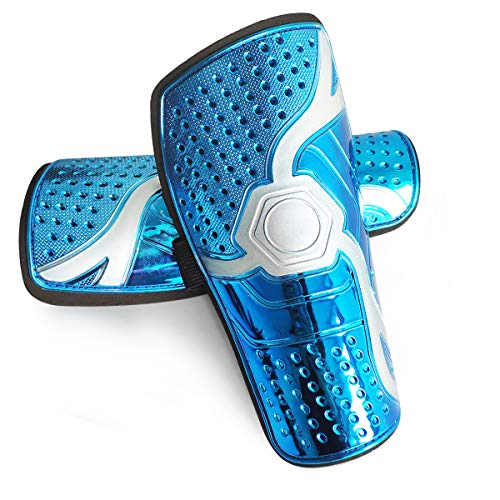 Soccer Shin Guards for Youths, Protective Gear Soccer Equipment forKids, Boys, Girls