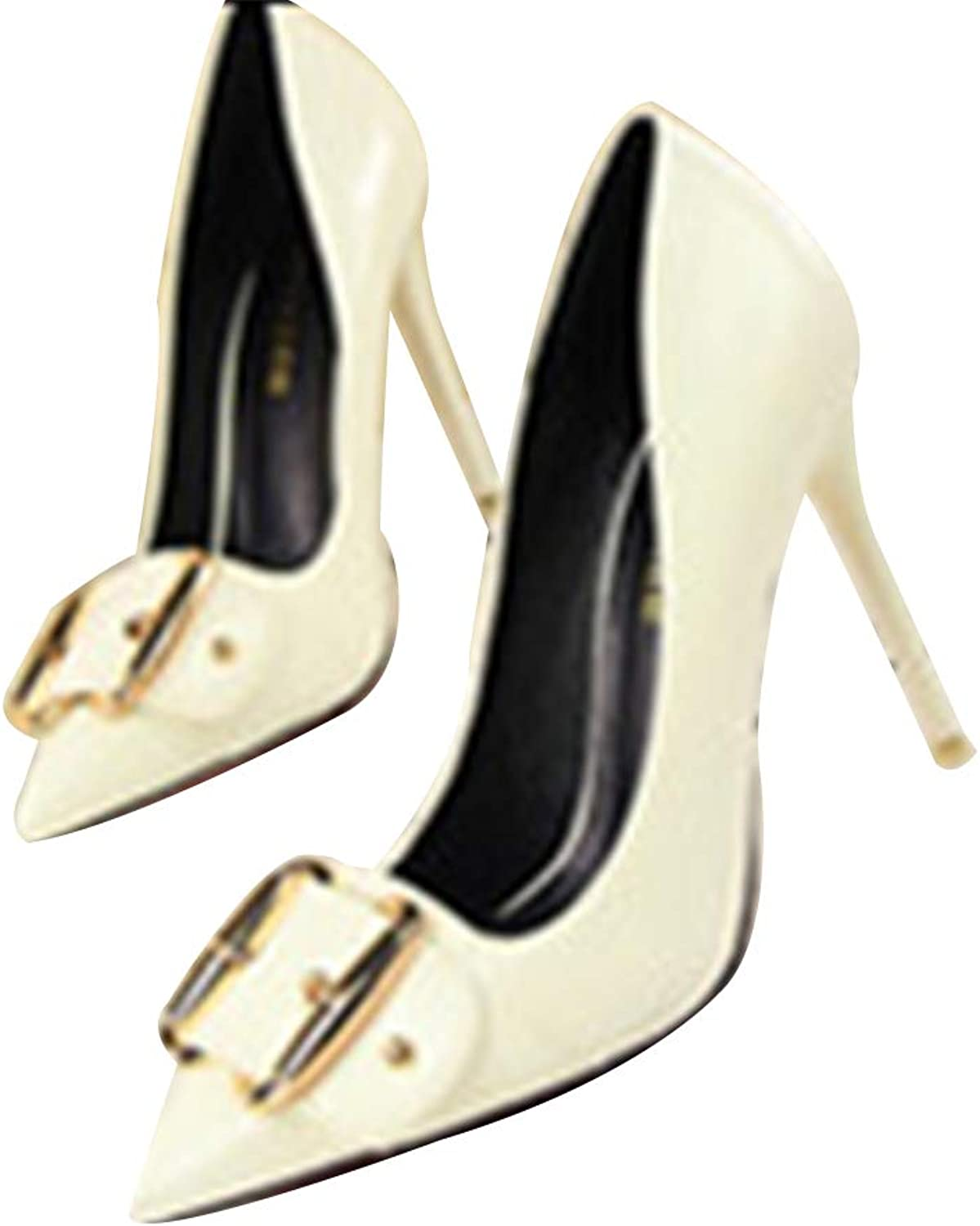 GUJMin Sexy high Heels Pointed Shallow Mouth Fashion Versatile high Heels Women's
