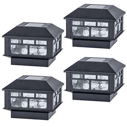 Solar Post Cap Lights (4 Pack)