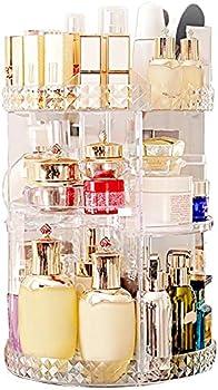 MISERWE Makeup 7 Adjustable Layers Cosmetic Organizer