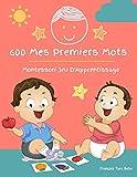 600 Mes Premiers Mots Montessori Jeu D'Apprentissage Français Turc Bebe: Collector cartes pour apprendre l'alphabet, animaux, nombres, formes ... éducatifs pour Les bébés et Les Tout-Petits