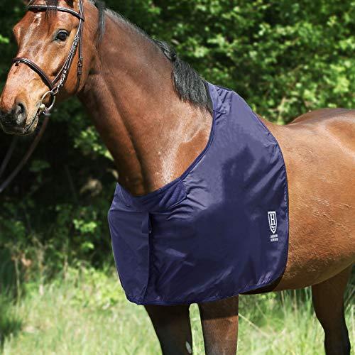 Harrison Howard Anti-Rub Bib Pferd Schulterschutz Brustschoner Widerrist Schutz - Mitternachtsblau