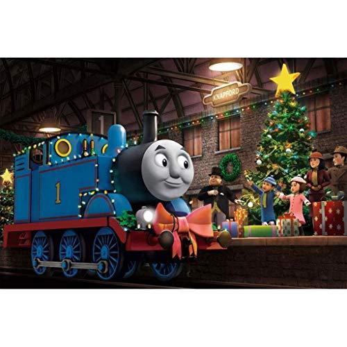 Teen Puzzle Trein Thomas puzzel, puzzel puzzel, Thomas en zijn vrienden Poster, Houten Amerikaanse Cartoon Casual puzzel (Color : B, Size : 500pc)