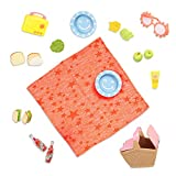 Glitter Girls Dolls by Battat – GG Picnic Set – Picnic Basket, Retro Radio, & Play Food Items – 14-inch Doll Accessories for Kids Ages 3 and Up – Children's Toys