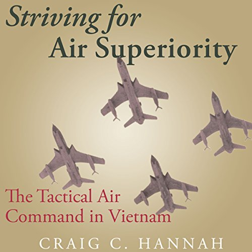 Striving for Air Superiority audiobook cover art
