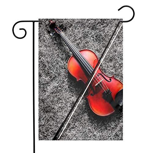 CHANGSHABF Yard Banner kleine viool festival tuin vlag huisdeur vlag decoratieve home outdoor vlag 30X45cm