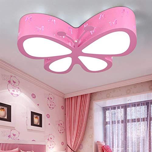 LED-plafondlamp voor kinderen, slaapkamer, dimbaar, modern, creatief, acryl, lampenkap, design van metaal, voor eetkamer, keuken, wandlamp Ø 50 cm