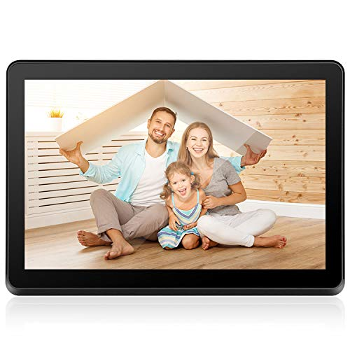 Digital Picture Frame WiFi 8 inch Electronic Photo Frame IPS Touch Screen HD Display, Share Moments Instantly iOS and Android App or E-Mail, 8GB Storage and Remote Control Digital Frames Picture