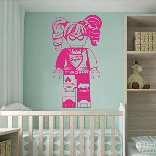 Kwekerij Kamer Muursticker Home Decoratie Lego Superman Meisje Shirt Muurcitaten Stickers