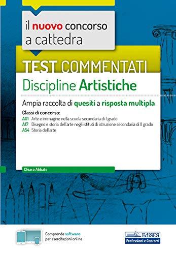 Test commentati Discipline artistiche: Ampia raccolta di quesiti a risposta multipla
