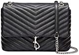 Rebecca Minkoff Edie Flap Shoulder, Black