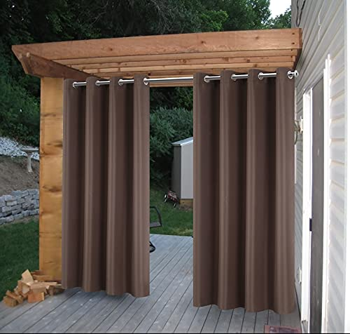 Cross Land Outdoor Curtains UV Protection Thermal Insulated for...