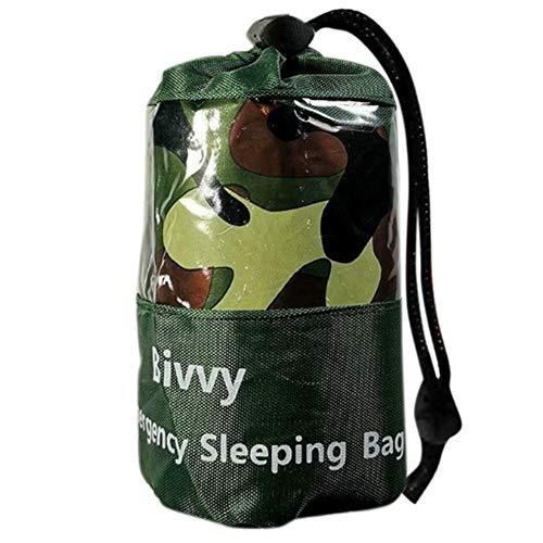 Notfallzelt, Outdoor Survival Schlafsack Warm Zelt Decken Rettungsdecke Wasserdicht Leicht Hitzeabweisend Kälteschutz Ultraleicht Rettungszelt