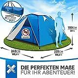 Aretus Eagle Tent Pop-Up Zelt 4P - 5
