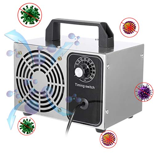 KKmoon Generador de Ozono 10g/h,Purificador de Aire,Esterilizador,con...