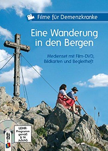 Filme für Demenzkranke - Eine Wanderung in den Bergen, Medienset mit Film-DVD, Bildkarten und Begleitheft