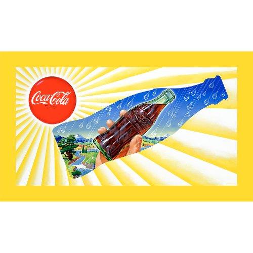 Markenzeichen Fine Art Sonne & Regen Coke Flasche 15x 71cm