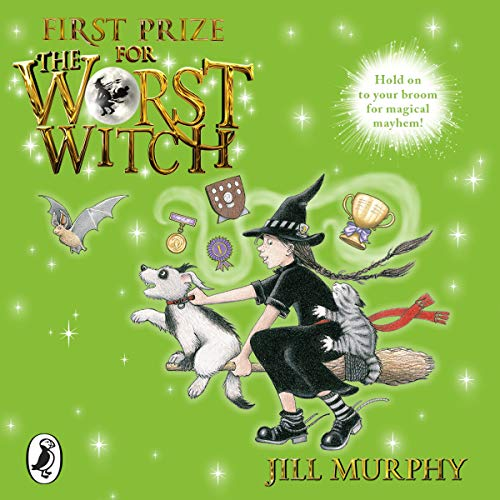 First Prize for the Worst Witch audiobook cover art
