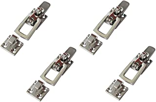 Four Marine Grade Stainless Steel Lockable Latches