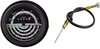 New Aftermarket Tachometer & Cable for John Deere 1520 2020 2120 2030 2630 2640 2040 2240 300b Replaces AL23838 AT19904