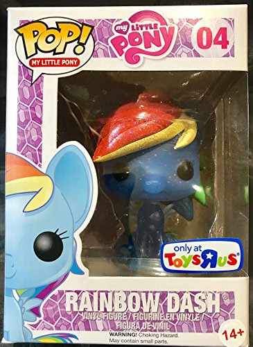 Funko POP! My Little Pony 3.75 inch Vinyl Figure - Rainbow Dash by FunKo