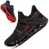 TSIODFO Herren Damen Sport Running Sneakers Tennis Athletic Walking Schuhe