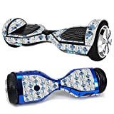 MightySkins Glossy Glitter Skin for Ultra Hoverboard - Galaxy Bots | Protective, Durable High-Gloss Glitter Finish | Easy to Apply, Remove, and Change Styles | Made in The USA