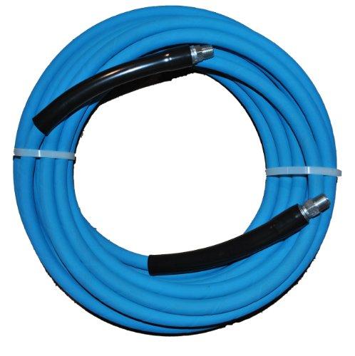 eagleflex-5800mit blau-RMA X B-Klasse Hochdruckreiniger Schlauch, 3/8NPT, mit NPT, Stecker mit mit Spritzschutz, 5800100PSI maximaler Druck, Länge: 3/8Schlauch-mit Adler