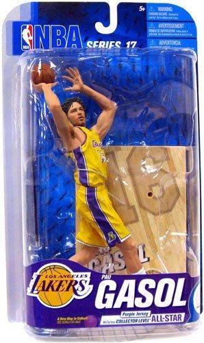 McFarlane Toys NBA Sports Picks Series 17 PAU Gasol