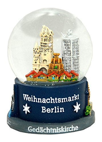 Souvenir Schneekugel Weihnachtsmarkt Berlin - 30017
