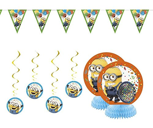 Despicable Me 3 Minion Party Supplies Decorations Kit