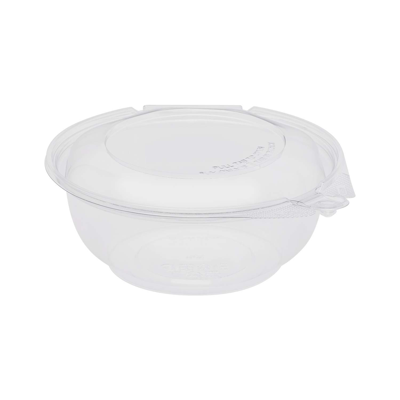 Karat 24oz PET Tamper Resistant Hinged Salad Bowl with Over item handling Max 90% OFF ☆ Dome Lid
