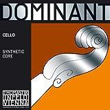 Thomastik Cuerda para Violonchelo 4/4 Dominant - cuerda Do núcleo de nylon, entorchado de cromo, ligero