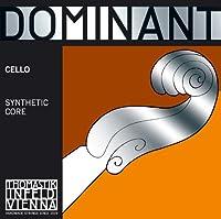 Thomastik Stringsドミナントチェロフルナイロンコアクロームスパン。 4/4;手段