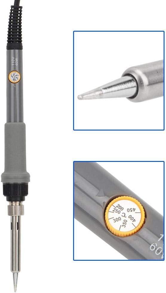 Prise UE 220V Kit de combustion du bois outil de combustion du bois stylo de pyrographie stylo de pyrographie /à contr/ôle de temp/érature variable avec 27 points de chauffage au bois