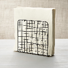 Bendt Iron Wire Napkin Holder + Reviews | Crate and Barrel
