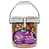The Jelly Bean Factory - 36 Gourmet Flavours im Monster Jar - Großpackung: 4,2 kg - 36 Geschmacksrichtungen - 100% Vegetarisch - Süßigkeiten - Geschenk