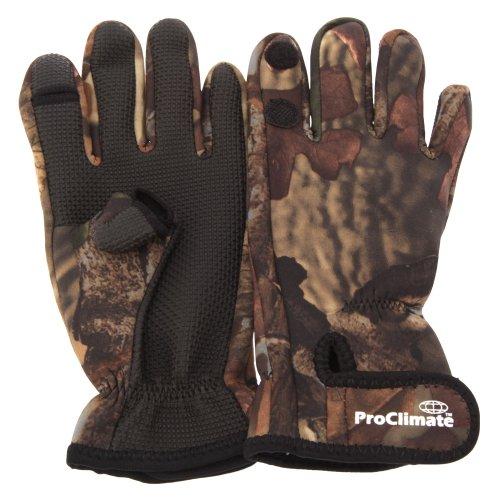 Gants de pêche - Homme (L/XL) (Camouflage)