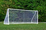 POWERSHOT But de Foot 5 x 2 m avec Options - Cage de Foot avec Mur de tir/ou Ballon de Foot/ou Sac (But de Foot Seul)