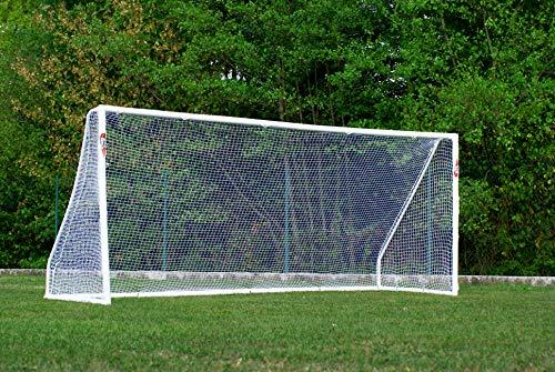 POWERSHOT But de Foot 5 x 2 m avec Options - Cage de Foot avec Mur de tir/ou Ballon de Foot/ou Sac (But de Foot Seul)