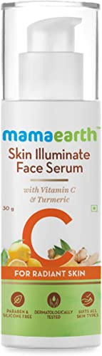 Mamaearth Skin Illuminate Vitamin C Serum For Radiant Skin with High Potency Vitamin C & Turmeric 30 g product image