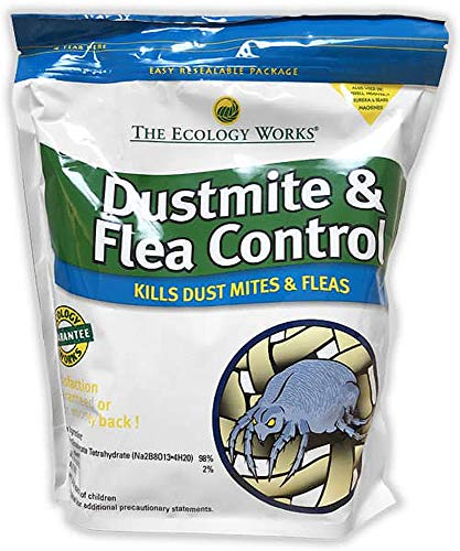 The Ecology Works - Dust Mite and Flea Control 2 lbs