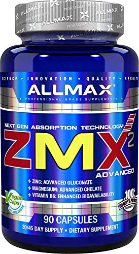 ALLMAX Nutrition ZMX2 Advanced Next Gen Absorption Supplement, 90 Capsules