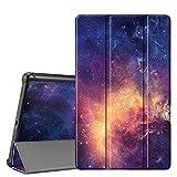 Fintie Hülle für Samsung Galaxy Tab A 10,1 T510/T515 2019 - Ultra Schlank Superleicht Kunstleder Schutzhülle Cover Hülle mit Standfunktion für Samsung Galaxy Tab A 10.1 Zoll 2019 Tablet, Die Galaxie