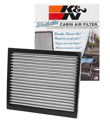 K&N Cabin Air Filter: Washable and Reusable: Designed For Select 2007-2019 Hyundai/Kia (i20 II, I30, Elantra, cee d, K3, Carens, Forte, Rondo) Vehicle Models, VF2037