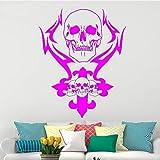zqyjhkou Crâne Creative Sticker Mural pour La Décoration Intérieure Squelette...