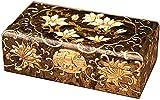 WXking Boîte de rangement chinoise, artisanat, boîte de rangement de bijoux, coiffeuse, vestiaire...