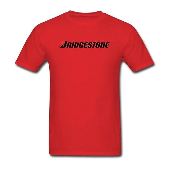 New Bridgestone logo black white T Shirt tee