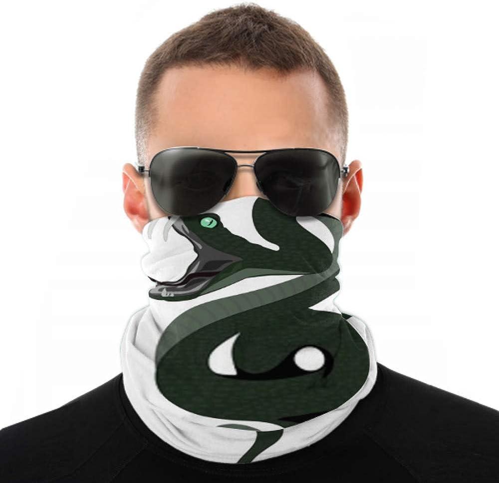 Headbands For Men Women Neck Gaiter, Face Mask, Headband, Scarf Anaconda Big Snacke Vector Art Turban Multi Scarf Double Sided Print Turban Headbands For Women For Sport Outdoor
