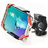 Bestrix Bike & Motorcycle Cell Phone Bike Handlebar Mount Holder for Mountain & Road Bicycle iPhone X, XS, XS Max, 8, 7, 6 6S 7 Plus, Samsung Galaxy S5 S6 S7 S8 Edge/Plus Note 2 3 4 5 LG G4 G5 G6 All